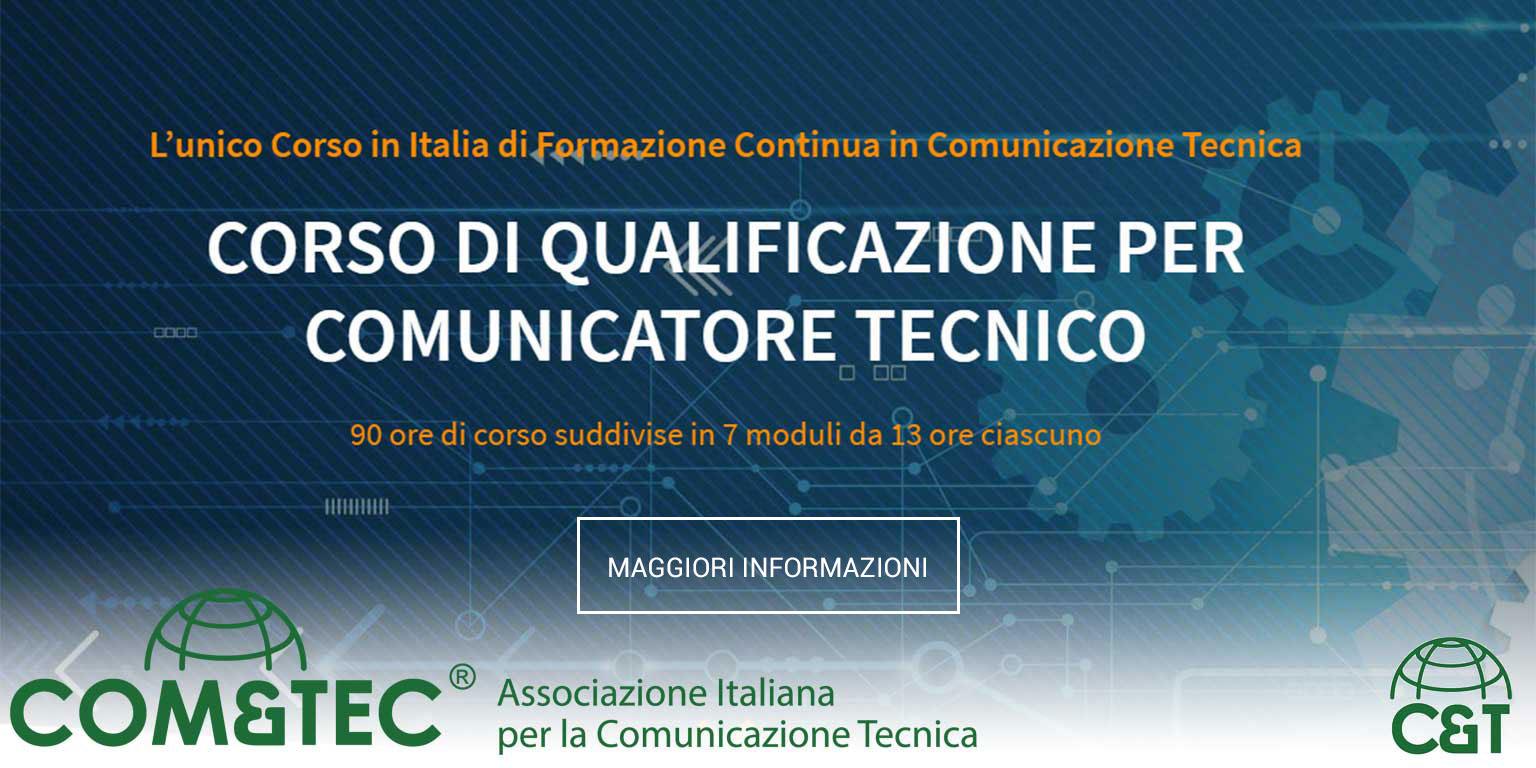 COMtecnica - corso di qualificazione per comunicatore tecnico