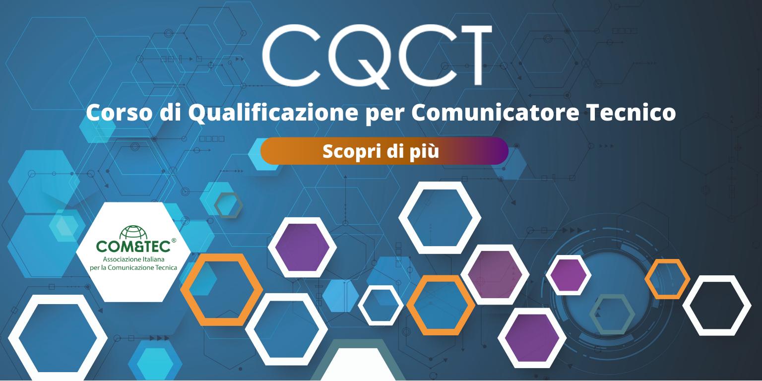 Corso di Qualificazione per Comunicatore Tecnico